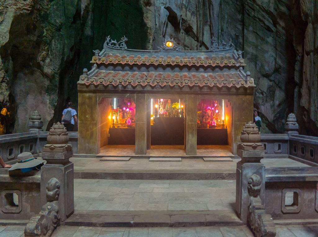 오행산(마블 마운틴) 후옌콩(Huyen Khong- 玄空) 동굴 내부-5972
