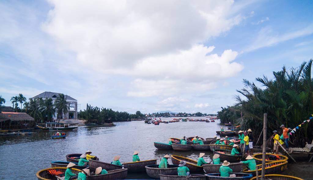 트남 다낭 여행 - 전통배 퉁버이(Thung Boi 바구니보트) 선착장-4955