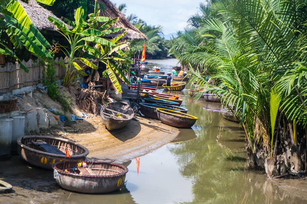 트남 다낭 여행 - 전통배 퉁버이(Thung Boi 바구니보트)-4937