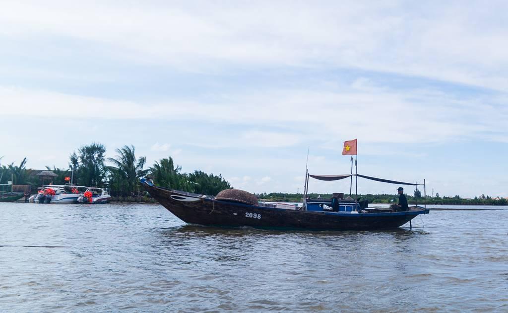 트남 다낭 여행 - 전통배 퉁버이(Thung Boi 바구니보트)-4985