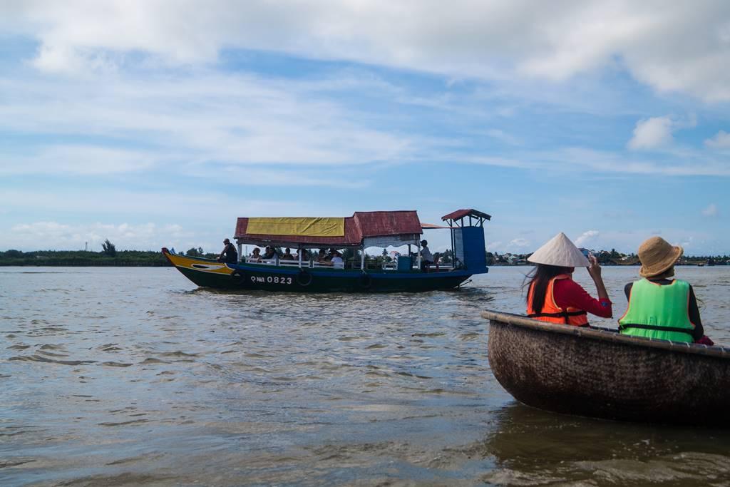트남 다낭 여행 - 전통배 퉁버이(Thung Boi 바구니보트)-5168