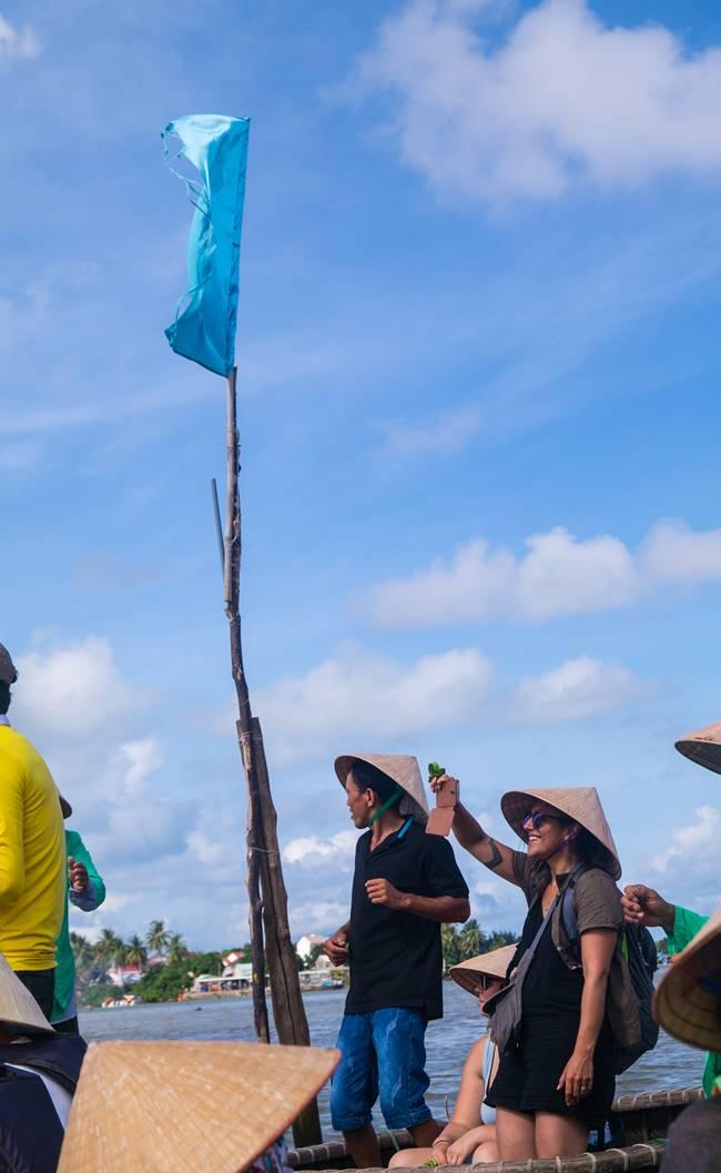 트남 다낭 여행 - 전통배 퉁버이(Thung Boi 바구니보트)-5187