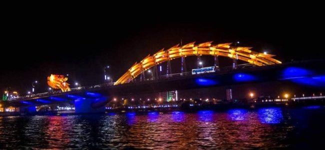베트남 다낭 여행기 #13 한강 다리 야경이 아름다웠던 유람선 타기