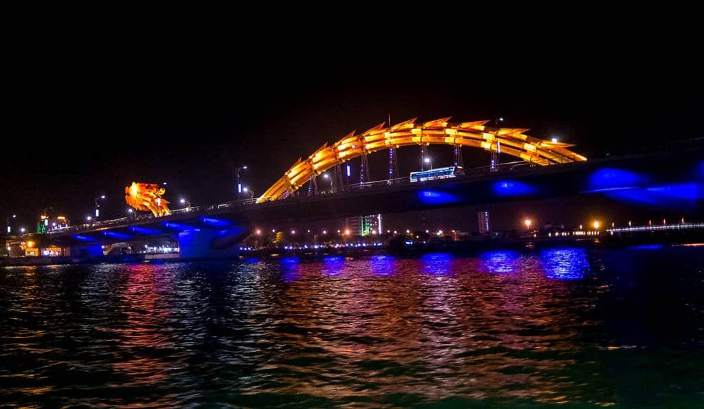 베트남 다낭 한강 용다리 야경 01