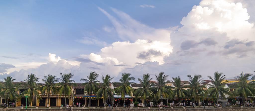 호이안(Hội An 會安) - 구름이 멋진 풍경 02