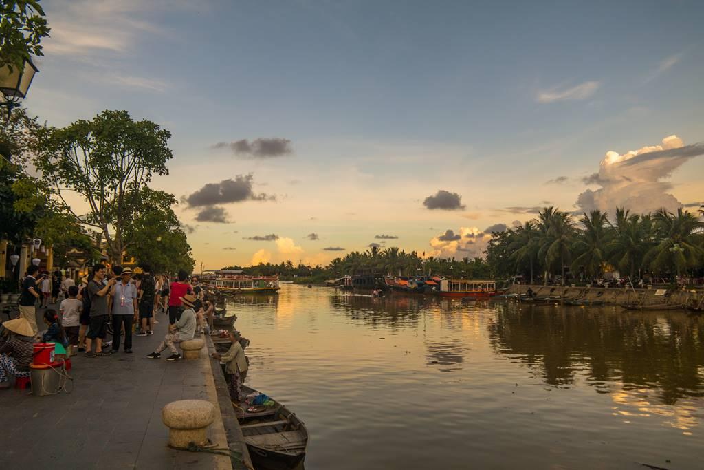 호이안(Hội An 會安) - 구름이 멋진 풍경 03