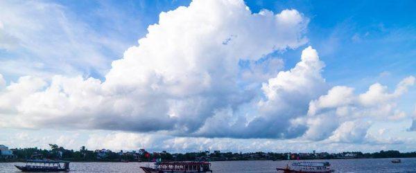 베트남 다낭 여행기 #18 – 낌봉 목공예마을에서 호이안으로 가는 투몬강 뱃길 풍경 5