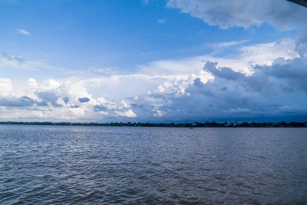 호이안 투몬강 풍경