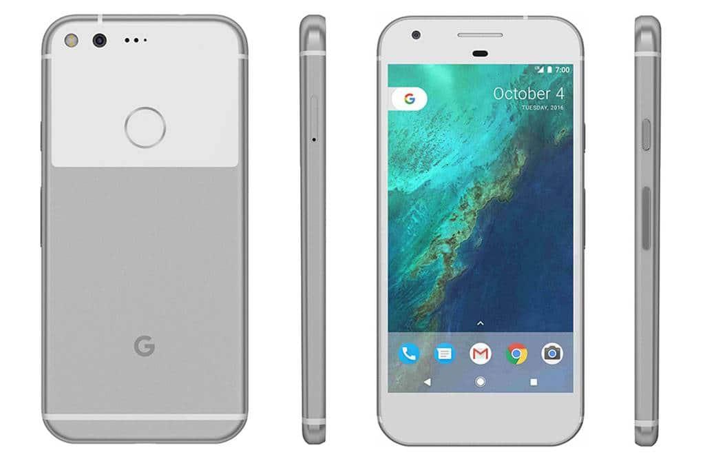 구글 픽셀 Google pixel silver