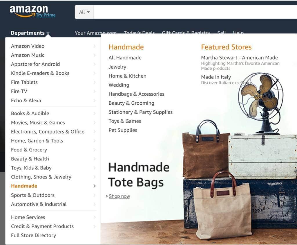 아마존 판매 제품 카테고리