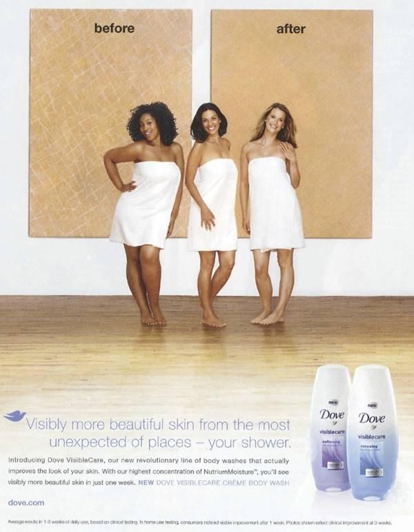 2011년 도브의 인종차별적인 광고 사례 06