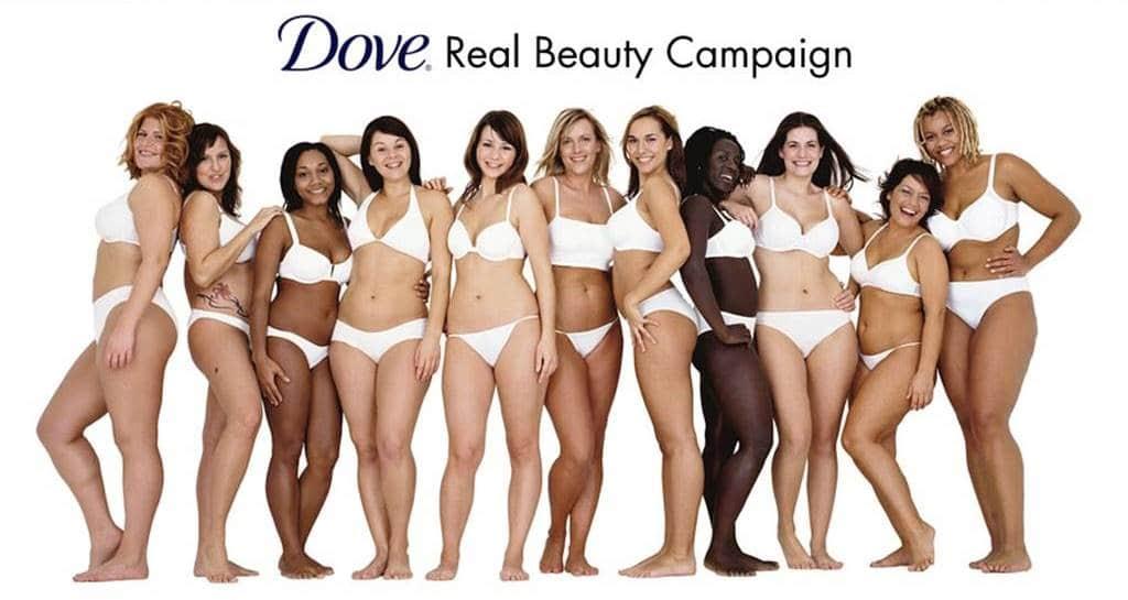 도브 리얼 뷰티 캠페인 Dove 의 'Real beauty' 캠페인