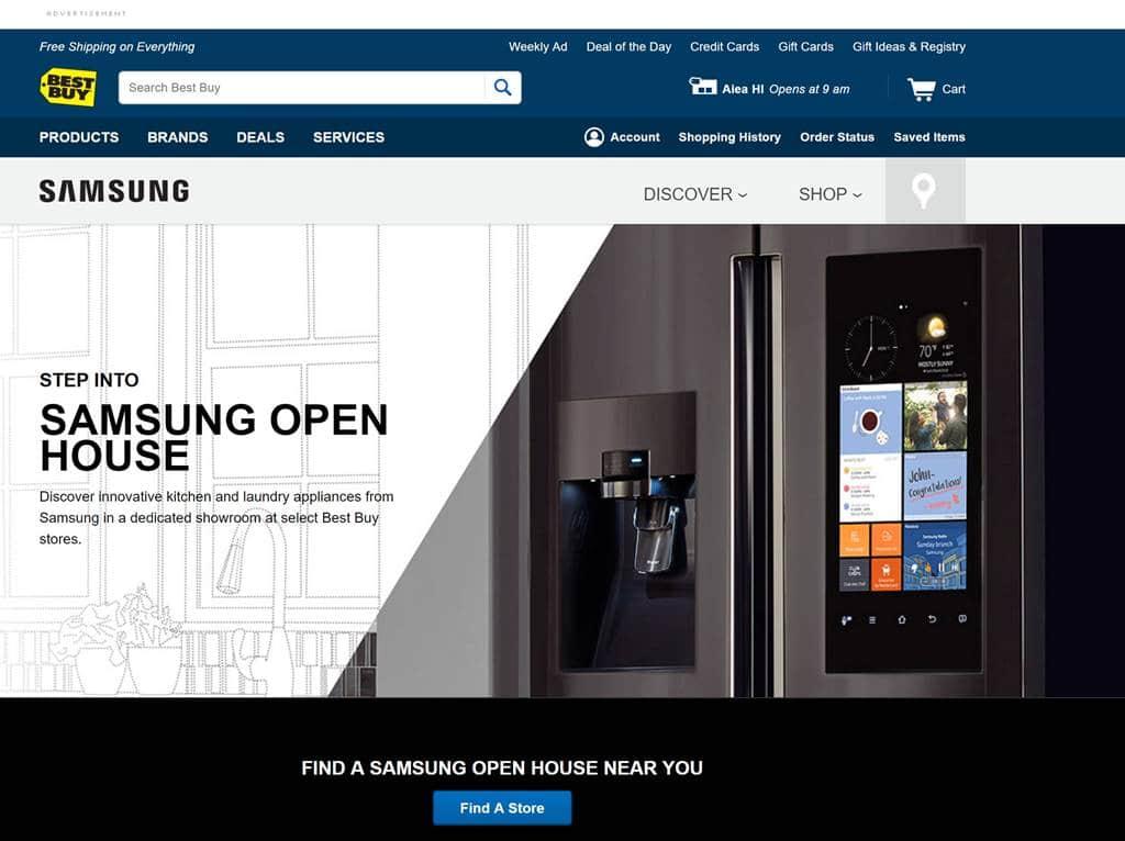 베스트바이 삼성 오픈하우스 BBY Samsung Open House