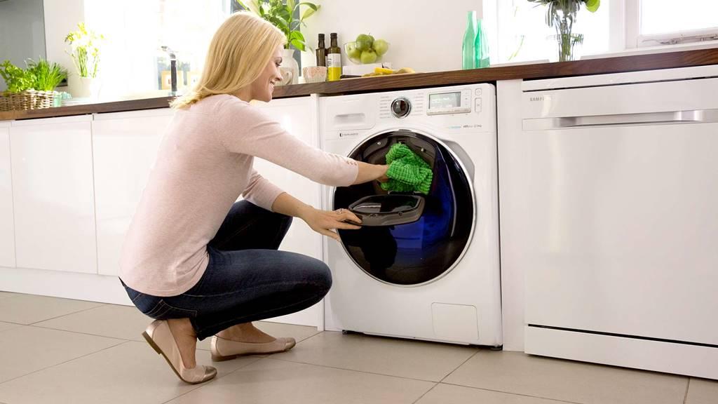 삼성세탁기 애드워시 Samsung clothe cleaner Addwash