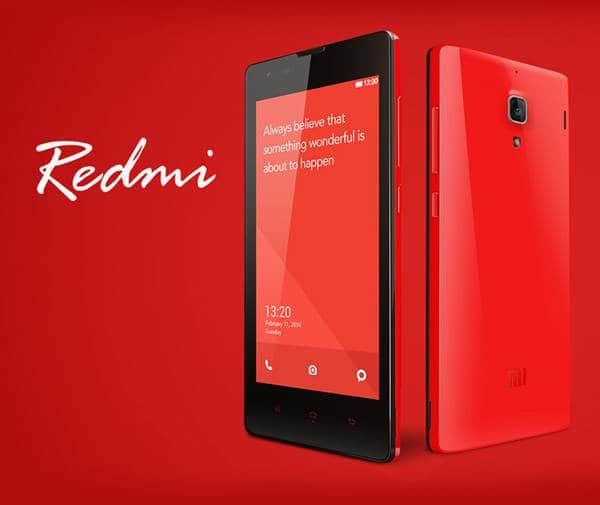 샤오미 인도 진출 두번째 제품 레드미 S1 xiaomi_redmi_1s