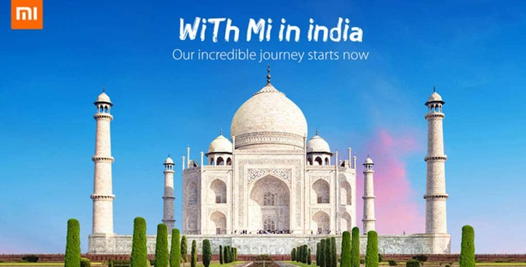샤오미 인디아 공략 포스터 Xiaomi-India-smartphone-sales-soon
