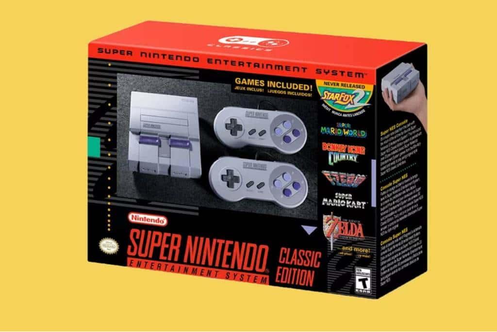 Super Nintendo Entertainment System (SNES) Classic 슈퍼 닌텐도 엔터테인머트 시스템 클래식
