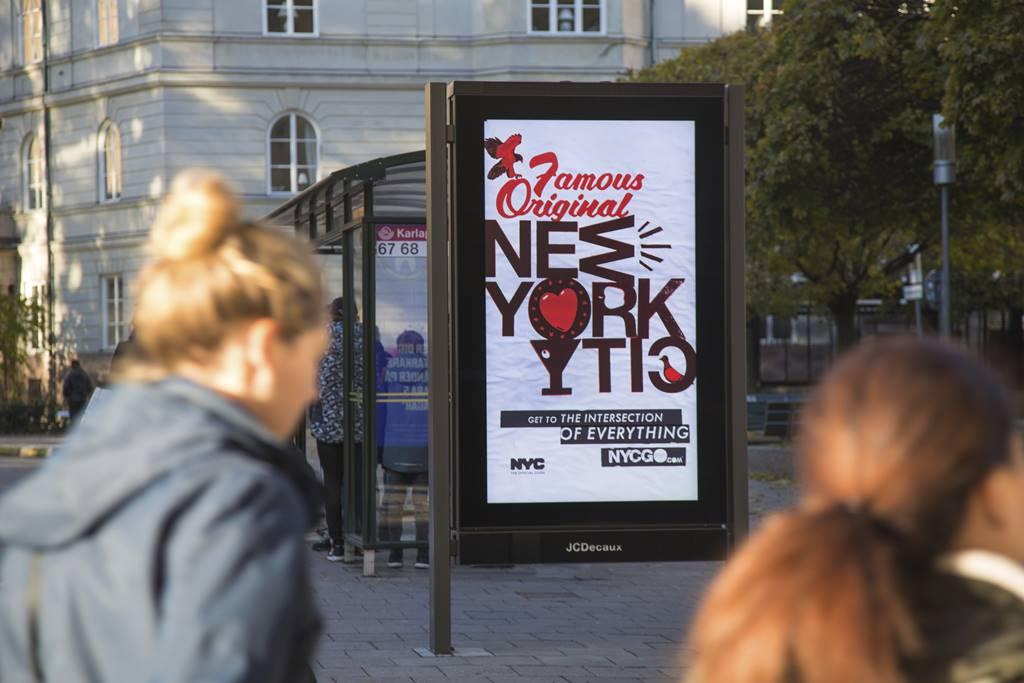 뉴욕시 홍보 광고 Famous Original NewYork City