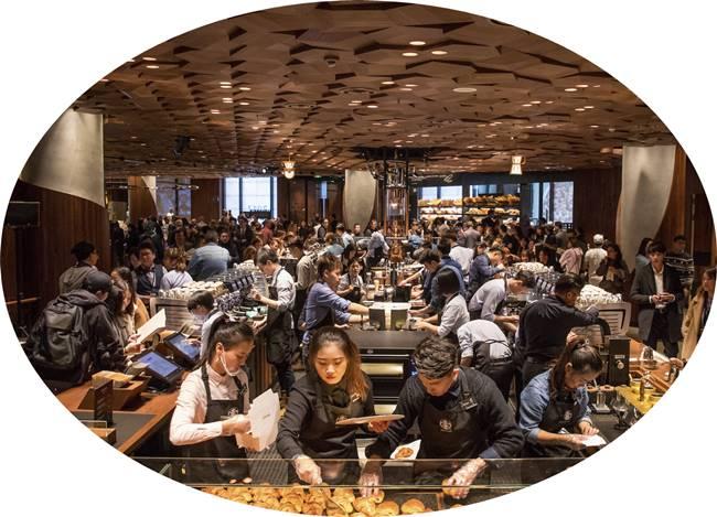 스타벅스 상하이 세계 최대 리저브 로스터리 starbucks-shanghai-roastery Food & Wine Magazine 10 원형