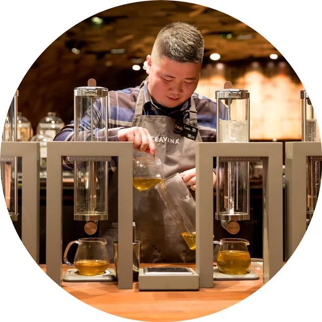 스타벅스 상하이 세계 최대 리저브 로스터리 starbucks shanghai roastery09 원형