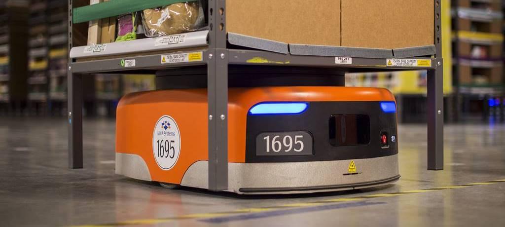아마존 로봇 키바 amazon kiva robot