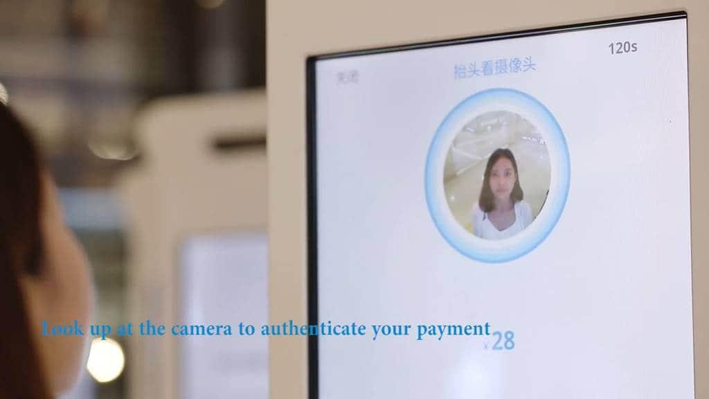 중국 알리바바 알리페이의 알리페이 스마일 투 페이 Alobaba Alipay Launches 'Smile to Pay' in China.mp4_20171224_180214.412