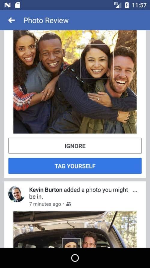 페이스북 얼굴인식기능 활용 예 02