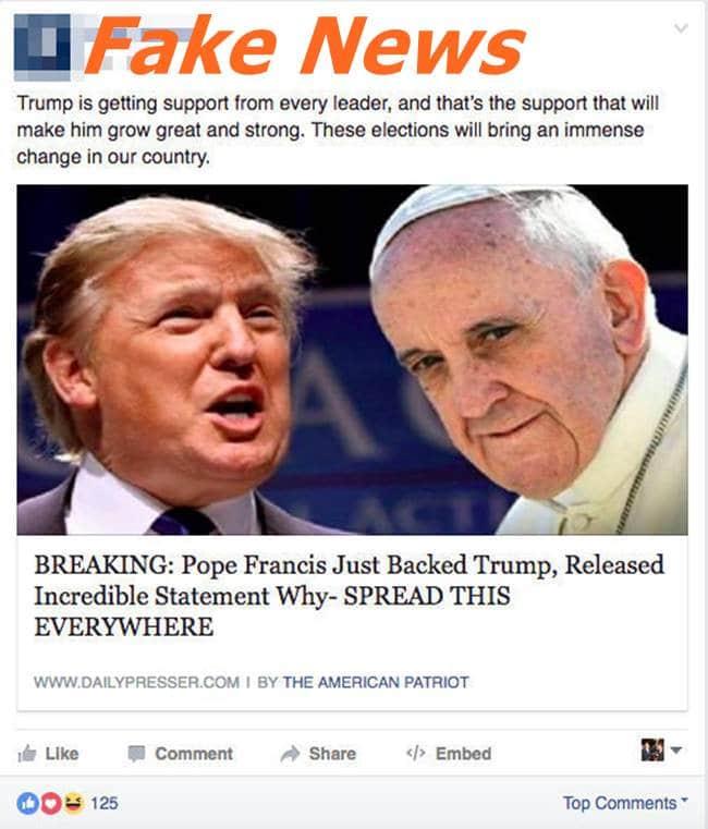 페이스북 페이크 뉴스 Facebook-Fake-News