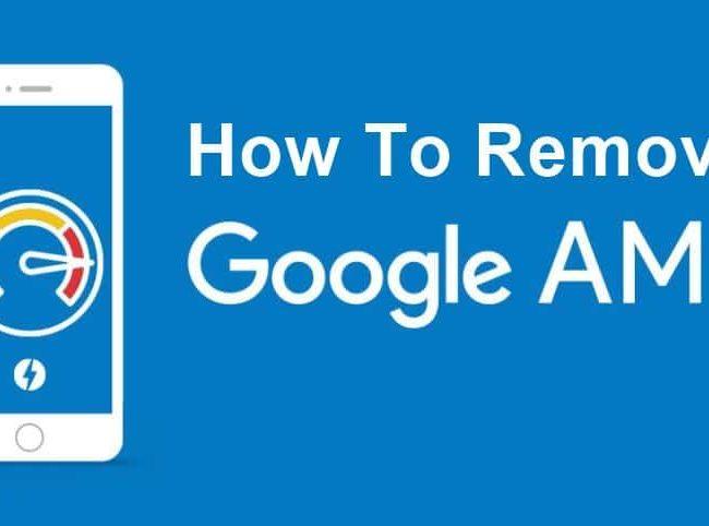 워드프레스에서 구글 AMP 삭제 방법 2가지