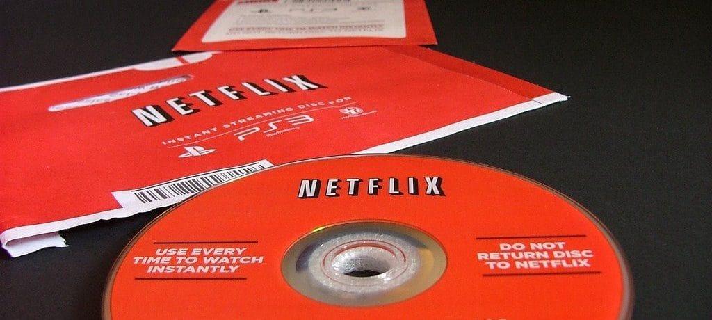 넷플릭스 DVD 및 DVD 배달 봉투 이미지
