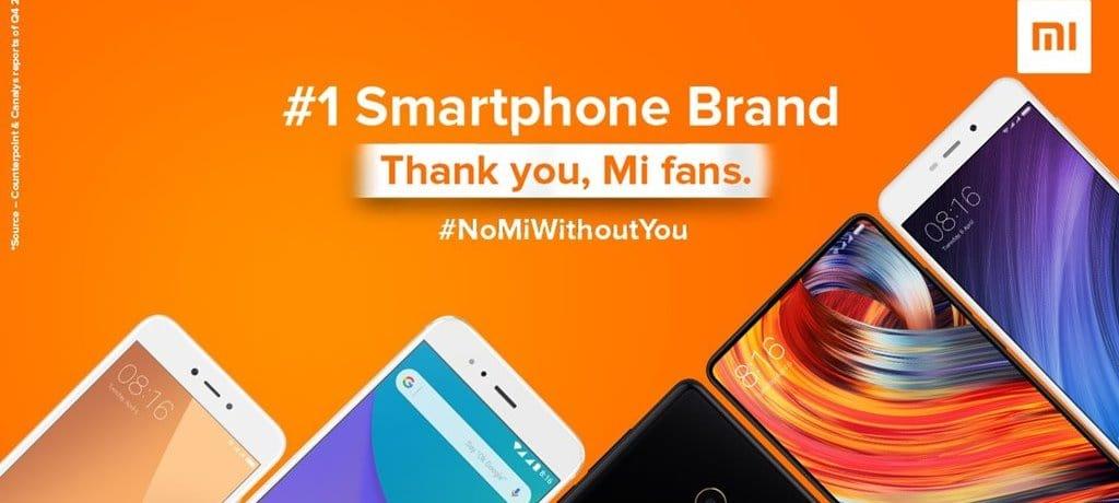샤오미 인도 Xiaomi India Facebook 페이스북 페이지 #1 기념