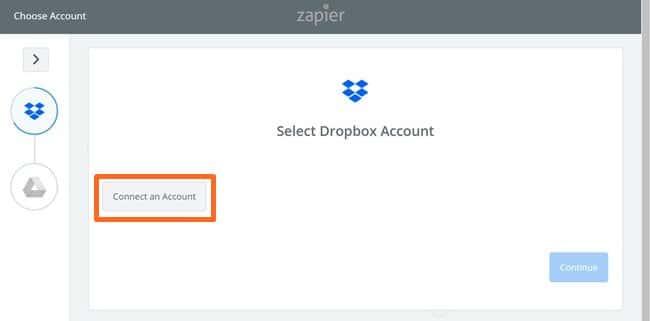 Zapier 사용법_Dropbox에서 구글 드라이브로 복사 기능 설정_Dropbox 계정 선택_screencapture-zapier-app-editor-31614783-nodes-31614783-auth-1516622635183