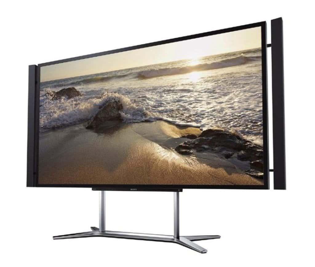 최초 4K 대형 TV 소니 XBT84X900