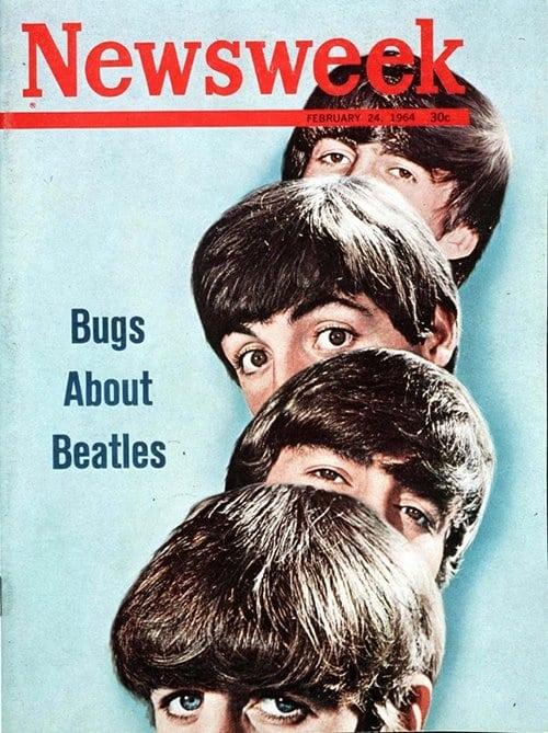 뉴스위크의 유명한 커버들 Newsweek's Iconic Covers 1964년 2월 24일 비틀즈 19640224