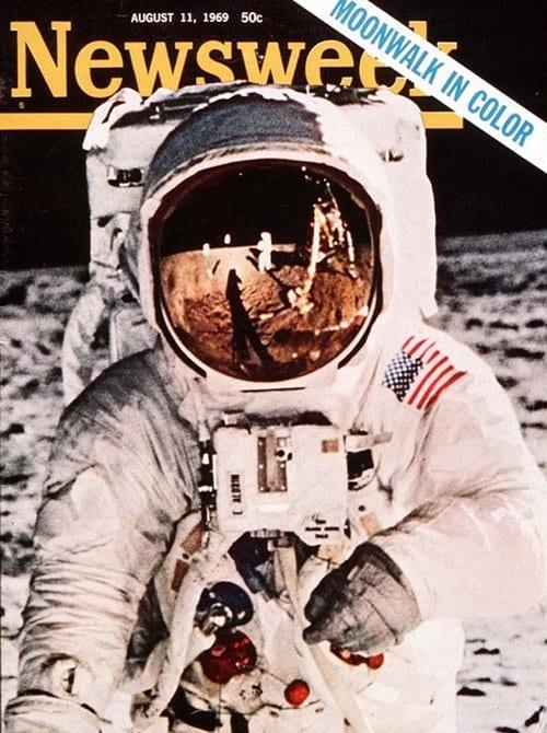 뉴스위크의 유명한 커버들 Newsweek's Iconic Covers 1969년 8월 11일 달 착륙 Moonwalk