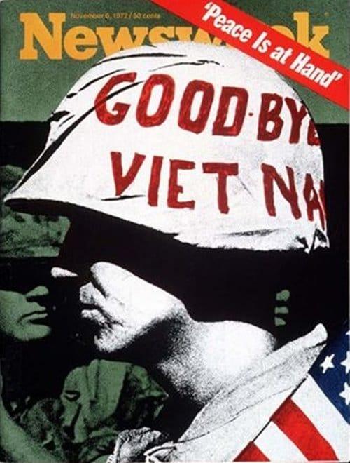 뉴스위크의 유명한 커버들 Newsweek's Iconic Covers 1972년 11월 6일 Goodbye Vietnam