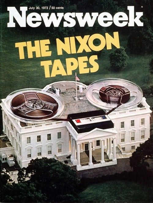 뉴스위크의 유명한 커버들 Newsweek's Iconic Covers 1973년 7월 30일 닉슨 테이프 19730730