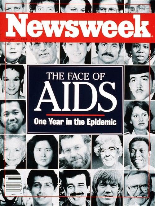 뉴스위크의 유명한 커버들 Newsweek's Iconic Covers 1987년 8월 10일 에이즈 19870810