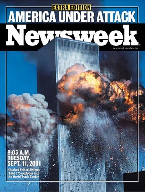 뉴스위크의 유명한 커버들 Newsweek's Iconic Covers 2001년 9월 11일 911테러