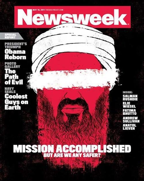 뉴스위크의 유명한 커버들 Newsweek's Iconic Covers 2011년 5월 16일 오사마 빈 라덴 Osama bin Laden
