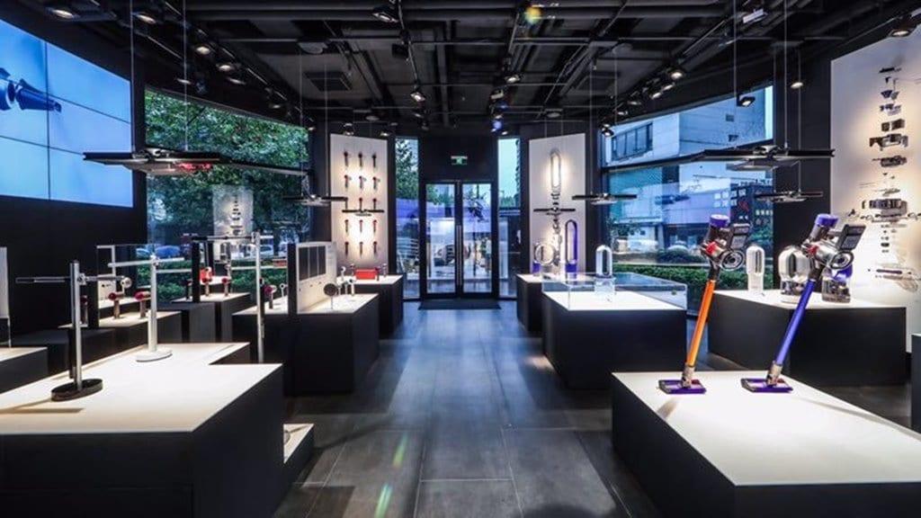 다이슨 상하이 매장 dyson-demo-store-shanghai