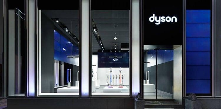 다이슨 일본 도쿄 데모 컨셉 스토어 전경 (Dyson Demo Concept Store) DysonStore_Topbanner