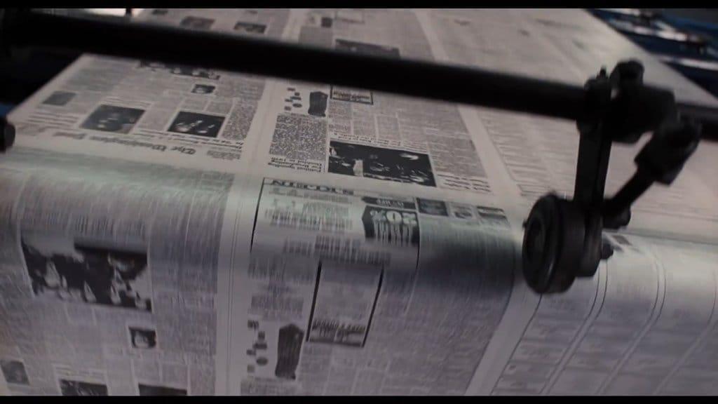 더 포스트(The Post) 영화의 아날로그적 장면들 002