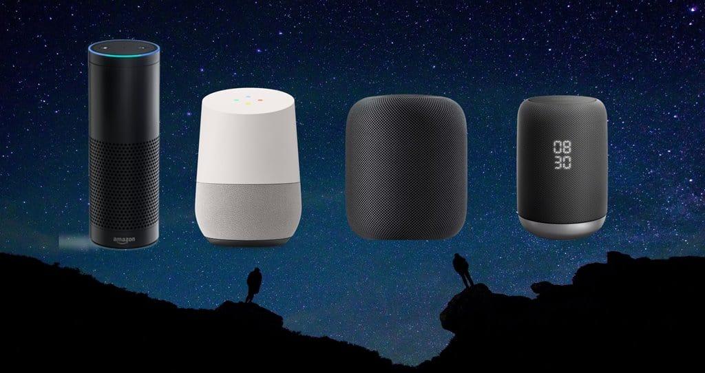 스마트 스피커 아마존 에코 구글 홈 애플 홈포드 소니 Amazon echo Google Home Apple Homepod