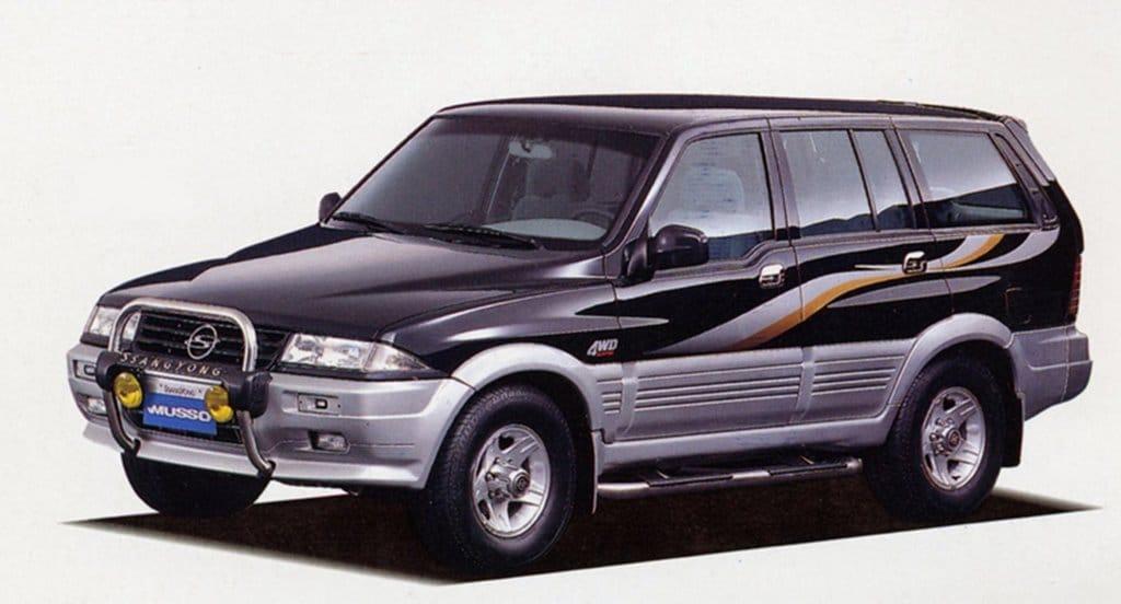 쌍용 무소자동차 이미지 자료원 나무위키