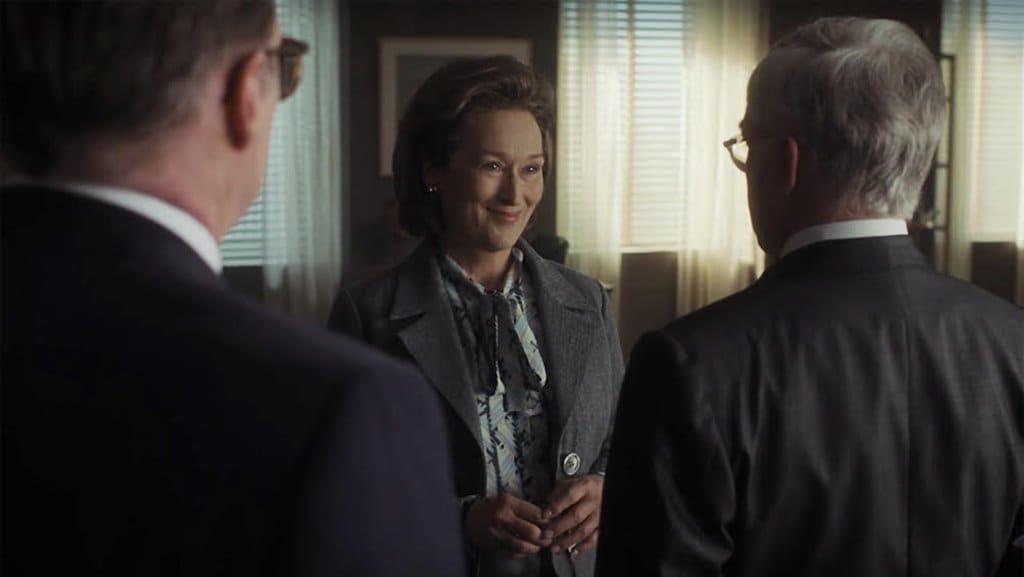 영화 더 포스트(The Post) 보도를 만류하는 이사들에게 보도를 하겠다고 이야기하는 메릴 스트립 Meryl Streep