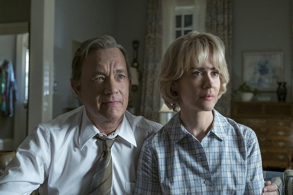 영화 더 포스트(The Post) 톰 행크스와 그의 아내