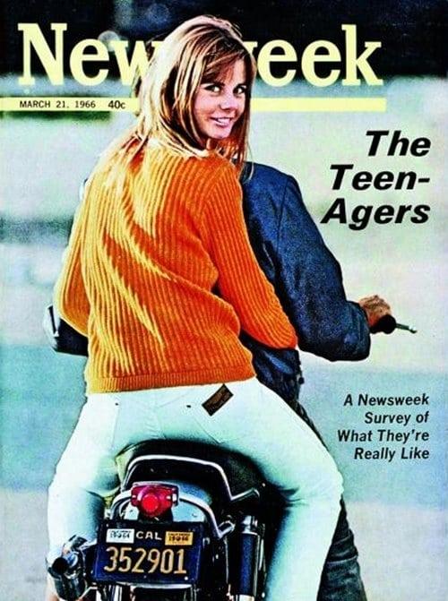 1966년 4월 21일 뉴스위크 표지 틴에이저 The Teen Agers