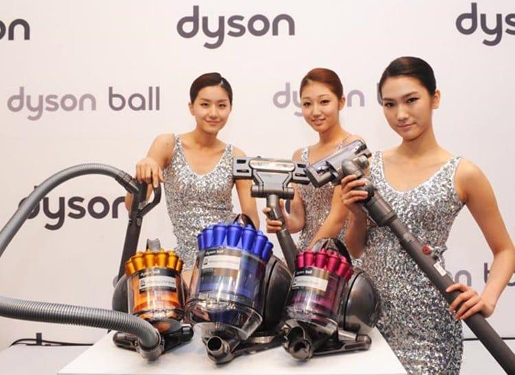 2012년 한국에 소개된 다이슨 볼(ball)청소기 DC36 DC37