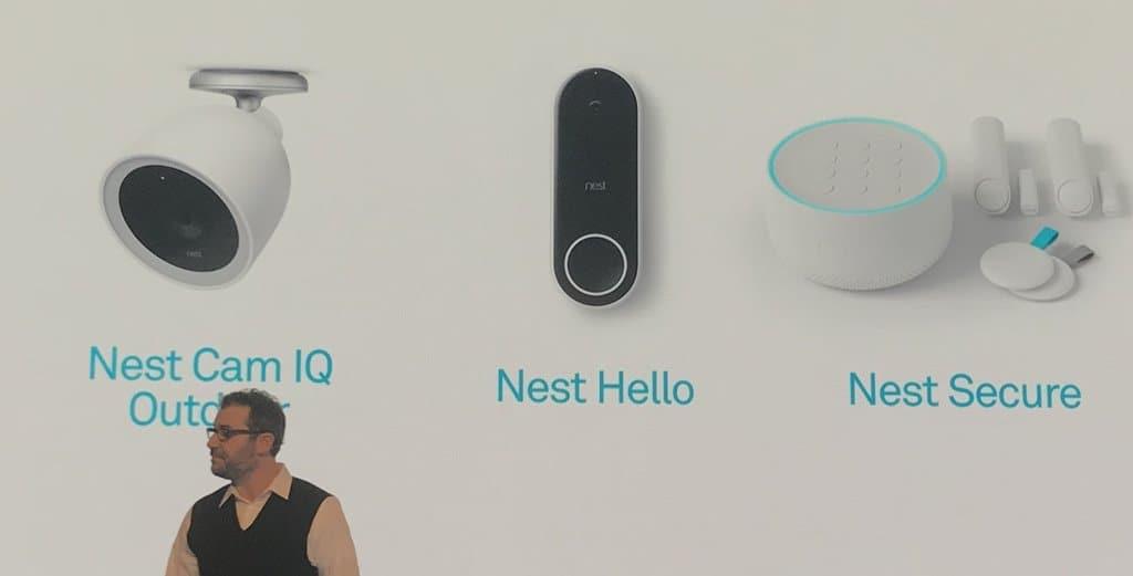 2017년 9월 발표한 구글 네스트 스마트홈 신제품 Googlr Nest New Product